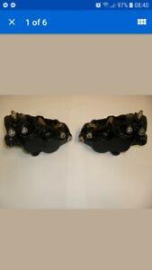 Kawasaki ZZR 600 ZX6R ZX9R ZZR1100 front brake calipers refurbishment service