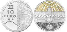 FRANCE 10 Euro Argent/Rhodium Or BE 2015 UNESCO les Invalides le Grand Palais