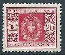 1934 REGNO SEGNATASSE 20 LIRE MNH ** - C5-11