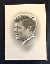 JOHN F. KENNEDY MEMORIAL FUNERAL CARD 1963 ORIGINAL RARE NM
