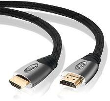 Ibra ® 8m Platinum Hdmi V2.0 / 1.4 Cable Hdtv 3d 1080p Full HD plomo 8 Metros