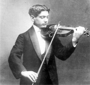 SPANISH VIOLINIST MANUEL QUIROGA (1892-1961) CD