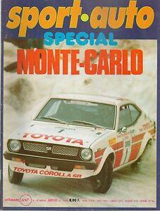 SPORT AUTO 192 1978 FERRARI 400 RALLYE RAC BANDAMA MONTE CARLO MARTINI MK22