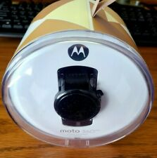 Used Motorola Moto 360 2nd Gen. 42mm Black/Black Leather
