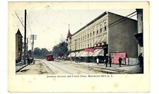 Richmond Hill Queens LI NY - JAMAICA AVENUE & UNION PLACE - Postcard