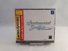 Sentimental Graffiti Sega Saturn Import NTSC JP JAP giapponese Original T-20106g