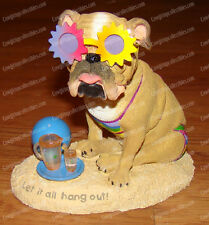 Let it ALL Hang out! Bobble (ZELDA WISDOM by Westland, 4868) Beach Bulldog