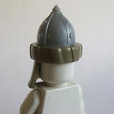 Custom ARABIAN HELMET for Lego Minifigures Castle MOC  -STEEL with Turban-