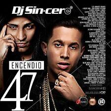 DJ SINCERO Encendio 47 Reggaeton Latin Spanish Trap Mixtape CD MIX