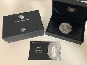 2019 American Liberty High Relief Silver Medal - C3