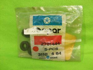 LOT of NOS MOPAR 2781444 Grommet 3 Speed Column Shift