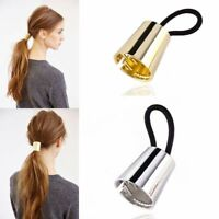 TREND Plastic Hair PONYTAIL CONE Holder Jaw Clip Clamp Tie Punk Rock Circle Ring