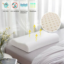 Latex Contour Memory Foam Pillow for Neck Shoulder Pain Relief Sleeper Sleeping