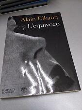 L'EQUIVOCO, Alain Elkann, Bompiani, 2008