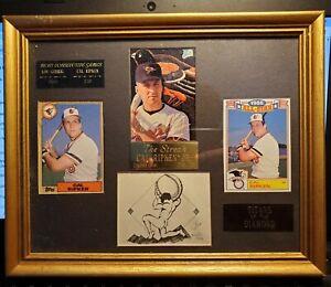 The Streak Cal Ripken Jr. 2131 Consecutive Games Collector Plaque  #109/2131