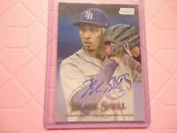 2019 TOPPS STADIUM CLUB ON CARD AUTO BLAKE SNELL TAMPA BAY SCA-BS