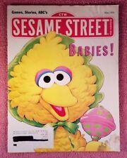 Sesame Street Magazine May 1994 Games, Stories, ABC's