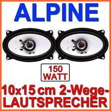 Alpine SXE-4625S - 4x6 2-Wege Lautsprecher Boxen Set 10x15cm 4x6 Zoll Koaxe  NEU