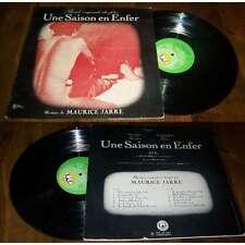 MAURICE JARRE - Une Saison En Enfer LP French OST Eden Roc 1971