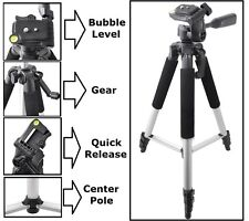 """Pro Series 57"""" Tripod With Case For Canon Vixia HF M500 R400 R300 M52 M40 M41"""