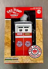GREENLIGHT VINTAGE GAS PUMP COLLECTION RED CROWN GASOLINE 1:18 SCALE FREE SHIP.