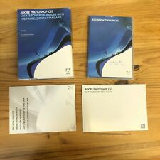 More details for adobe photoshop cs3 for mac with manuals photo editing computer software