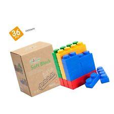 UniPlay Basic Soft Building Blocks — Cognitive Development Toy, Educational B.