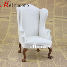 doll 1/6 scale  furniture high quality handmade wood armchair
