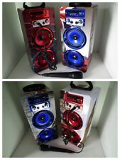 Musikbox Karaoke Bluetooth /  Lautsprecher mit Mikrofon / Radio USB  Musikanlage