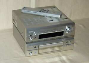 Denon DRA-F101 Receiver + DCD-F101 CD-Player + Fernbedienung