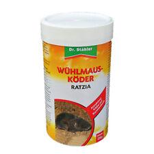Wühlmausköder Ratzia Köder Wühlmäuse Dr. Stähler 250 g Wühlmaus Ex Karottenbasis