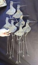 Curtis C Jere MCM Vintage Shorebirds Beach Birds Metal Art Sculpture Signed