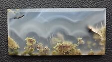 Agate paysage 39.5 carats - Natural moss agate Indonesia