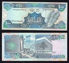 1000 livre Banque Du Liban  BB+/VF+  '