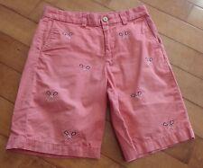 VINEYARD VINES Boys Sz 12 Salmon Pink Lacrosse Flat Front Shorts