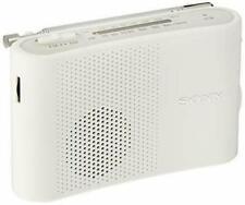 SONY FM / AM handy portable radio White ICF-51 / W NEW from Japan