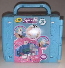 Crayola Scribble Scrubbie Pets Vet Animal Toy Tub Set Kids Gift Play Wash