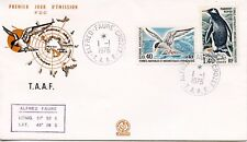 FDC / T.A.A.F. TERRES AUSTRALES TIMBRE N° 54 ET 60 / FAUNE /