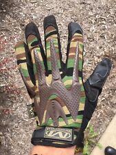 Brand New Mechanix Wear M-Pact Woodland Camo Gloves (XL) - 2 Pair