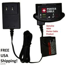 Porter Cable 20V max Li-Ion 20 Volt BATTERY CHARGER PCC695L GENUINE Brand New!