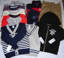 BOYS CLOTHES NWT SIZE 2T LOT FALL TOPS PANTS RETAIL VALUE $244 FREE SHIPPING