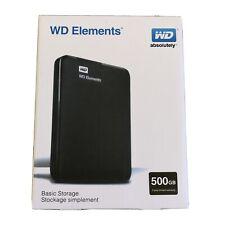 Western Digital 500 GB External Hard Drive SSD, USB 3.0