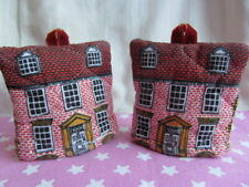 Pair FRANCES WORTERS Quilted Egg Cosies Cozy Lovely Condition