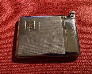 Porta sigarette con accendino integrato con stemma Tirolese - epoca anni '70.