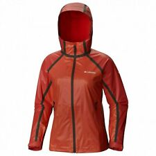 COLUMBIA WMN TITANIUM OUTDRY EX GOLD INSULATED JACKET, SuperSonic/Red Element, S