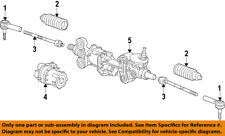 GM OEM Steering Gear-Outer Tie Rod End 22868912