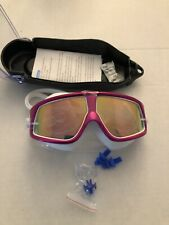 Peacoco Premium Polarized Big Large Frame Swimming Goggles Anti Fog No UV
