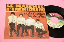 "LE MACCHIE D'INCHIOSTRO 7"" 45 ORIG ITLAY BEAT 1968 NM CLAN CELENTANO LABEL"