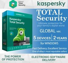 Kaspersky Total Security 2020 5 Devices 2 YEARS GLOBAL KEY