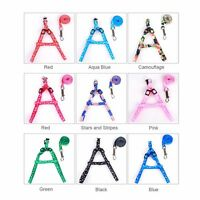 Nylon Pet Dog Puppy Cat Kitten Rabbit Harness Leash Lead Adjustable Set